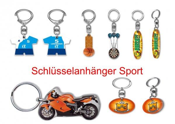 Schlüsselanhänger Sport, Schlüssel-anhänger Sport.