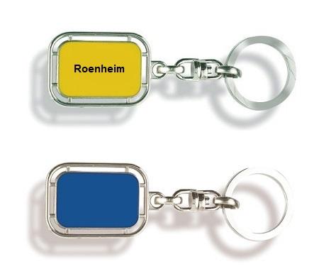 Schlüsselanhänger Rosenheim, Schlüsselanhänger Ort, Schlüsselanhänger Stadt, Rosenheim, Werbe Rosenheim,