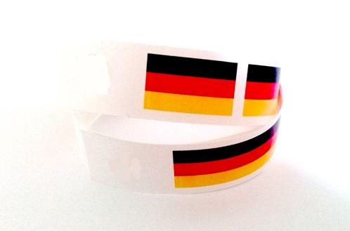 Sport-bänder Deutschland, Bänder Deutschland, Kontrollarmbänder, Identkontroller