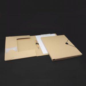 Tagungsmappen aus Karton, Rücken 2 cm, Tagungsmappen, Tagungsmappe, Mappen, Büro-mappen, Tagungsmappe in karton optik mit Blockklemme, Büro artikel, Werbemittel, Werbung, Werbeartikel,