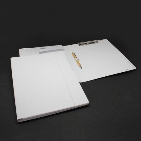 Tagungsmappen aus Karton weiß mit Blockklemme, Tagungsmappen, Tagungsmappe, Tagungsmappe bedruckbar mit blockklemme, Mappen, Büro, Werbemittel, Werbeartikel, Werbedruck, Büroartikel, Bürozubehör, Bürobedarf,