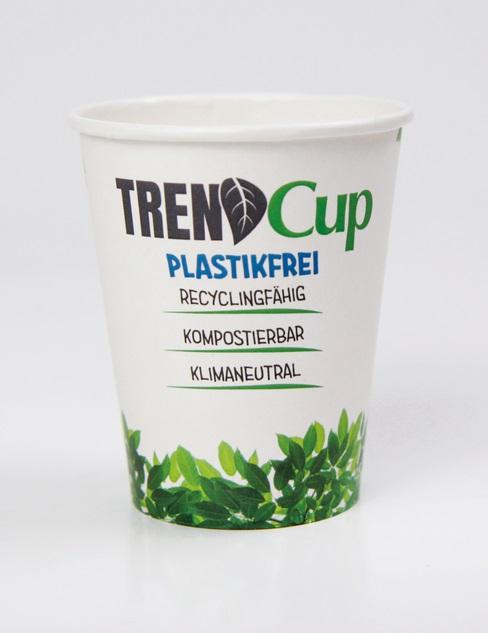 Trinkbecher, Trend Cup Trinkbecher, Trendcup Trinkbecher, TrendCup-Neu, Trend Cup Becher, Trendcup Becher, Trend cup Becher, Pappe Becher, Werbeartikel, Werbemittel, Werbung