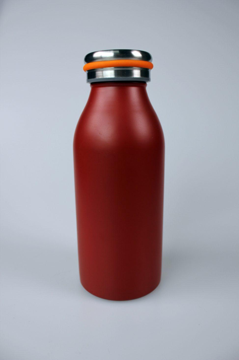 edelstahl-flasche rot, Werbe-edelstahlflasche,